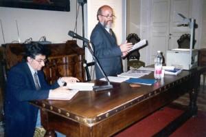 il Prof. Giuseppe Ragnetti