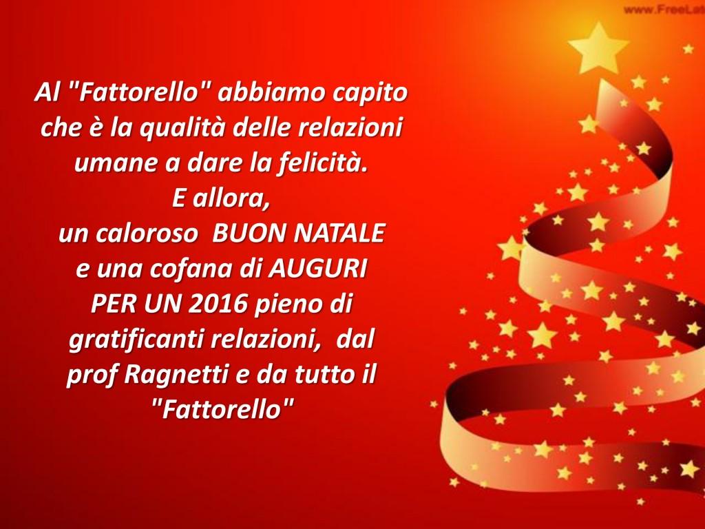 Auguri Fattorello 2016