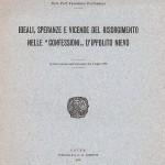 """Ideali, speranze e vicende del Risorgimento nelle """"confessioni"""" d' Ippolito Nievo (Tipografia G.B. Doretti - Udine 1930)"""