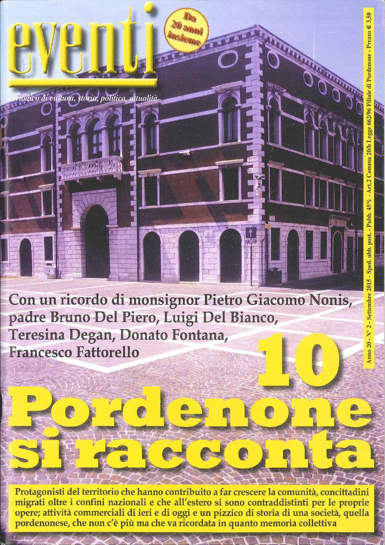 Pordenone si racconta (Settembre 2015)